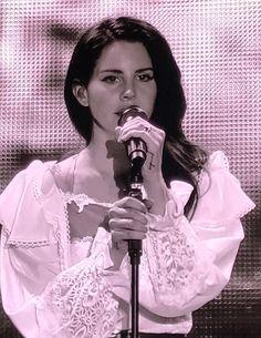 Lana Del Rey performing at Way Out West Festival in Gothenburg, Sweden #LDR