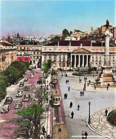 Belem, Antique Photos, Capital City, Historical Photos, Lisbon, Portuguese, Paris Skyline, Mansions, Gifs