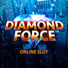 Play the famous Diamond Force only at 18bet.com Online Casino Games, Casino Bonus, Play, Diamond, Diamonds