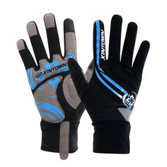 Airsoftsports Tactical Real 2017 Mtb Bicycle Full Fingers Cycling Gloves Thick Wearable Ciclismo Luva Bike Slip High Luvas