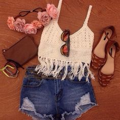 Summer Boho Outfit
