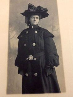 This is a 1903 photogravure on paper featuring a really lovely woman with a large hat and fancy coat on.  It was done by JA Brush Studio and is signed by Mr. Brush and dated 1903.  Apparently Mr. Brush was a well known Minneapolis, Minnesota photographer working from the 1870-s through the 1900s, passing away in 1906.  His studio, at the time this photo was taken, was on Hennepin Avenue at 6th Street. | eBay