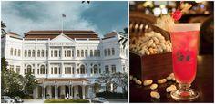 12 expériences foodies à tenter à Singapour : Boire un Singapore Sling à l'hôtel Raffles