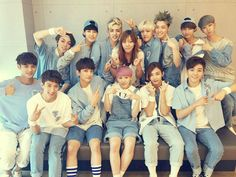Seventeen and their performance director