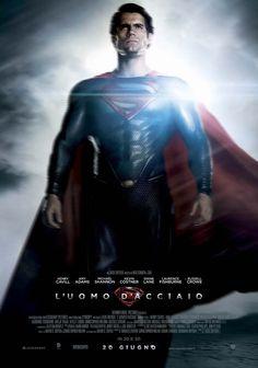 L'uomo d'acciaio  #locandina #superman