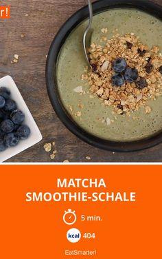 Matcha Smoothie-Schale | Kalorien: 404 Kcal - Zeit: 5 Min.