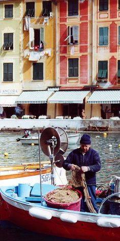 Portofino, Italia-->The movie, Enchanted April, was filmed here.