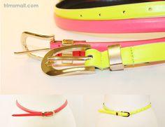 #Neon Color #Skinny Belt #Fashion Skinny Belt, Candy Colors, Neon, Accessories, Fashion, Moda, Fashion Styles, Neon Colors, Fasion
