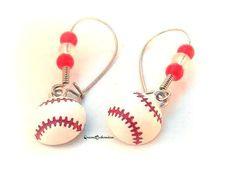 #Summer Outdoors #Baseball #Earrings #Choiceofcolors  #SportsLover #baseballmom #Queen2Bohemian #nationalpasttime