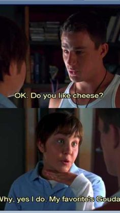 She's the man! <3 one of my favorite parts