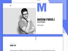 Personal Portfolio Creative Website