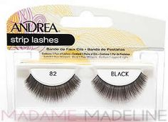 Andrea Strip Lash 82 Black #madamemadeline #andrea #andrealashes #andrea82