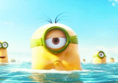Animated gif} Stuart- Mininons Movie