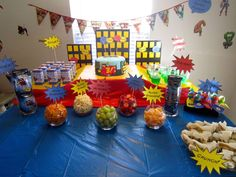 Super Hero Party | CatchMyParty.com