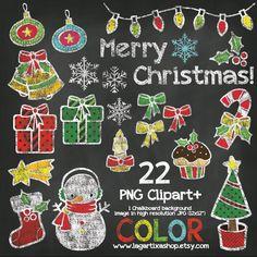 Un favorito personal de mi tienda Etsy https://www.etsy.com/mx/listing/177525971/pizarra-navidad-gises-de-colores-clipart