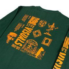 Shirt Print Design, Tee Shirt Designs, Tee Design, Graphic Shirts, Printed Shirts, Tee Shirts, Hang Ten, Screen Printing Shirts, Marca Personal