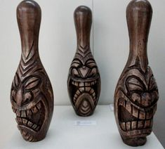 Bowling Pins on Pinterest   Nutcrackers, Patinas and Hr Giger