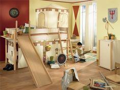 Habitaciones infantiles, descanso y diversión