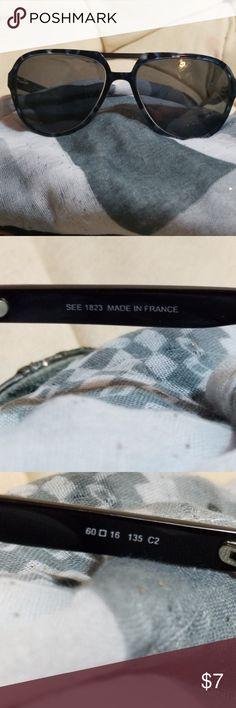 3e0fb267de SEE Blue Tortoise Shell Glasses Frame SEE blue tortoise shell glasses frame  made in France.