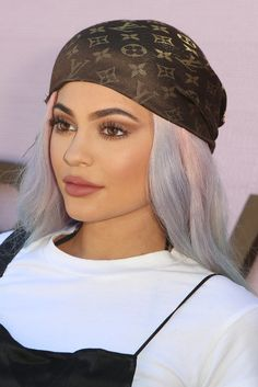 #KylieJenner Was a Rainbow-Haired Mermaid Goddess at #Coachella