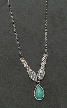 Montana Silver Smith Woven Light Lavalier Necklace | Cavender's