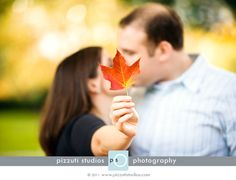 fall engagement pictures - Bing Images then write wedding date on leaf