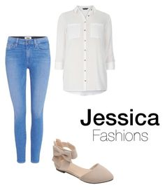 """""""Cute&casual"""" by faboulouslymusicalandlove on Polyvore featuring Dorothy Perkins and Paige Denim"""