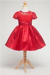 Jillian Red Holiday Dress