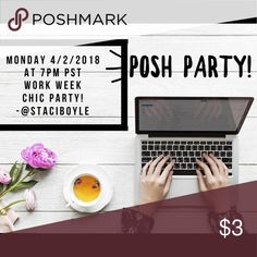 Posh Party 🎉 Looking for potential host picks! 👀 Yay!! Hosting my 3rd 🎉Posh Party and I'm looking for potential host picks for the work week chic party on Monday 4/2/18 at 7pm PST 🎉😀🎉  Please send to my dressing room for consideration. *Your closet must be compliant* PS. Let me know if you've never had a host pick!! 😘 torrid Tops