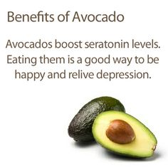 Avacado's benefit.