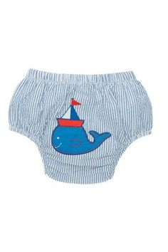 Elegant Baby Bloomer Nautical Boy Seersucker bloomer with appliqu Fits 6 to 12 months Please Click the image for more information. Boat Theme, Unique Baby Gifts, Baby Bloomers, Baby Cover, Diaper Covers, New Mums, Seersucker, Baby Accessories, Baby Boy
