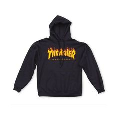 7064f3f3cc5c The Flame Hoodie from Thrasher Magazine. Heavyweight