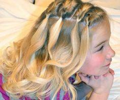 Braids for Short-haired children