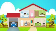 Learn House Vocabulary for Kids in Arabic  - تعليم مفردات البيت للاطفال ...