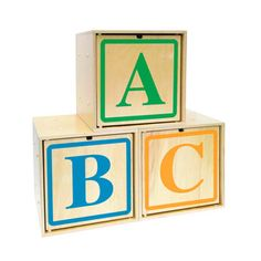 ABC Toy Box Blocks now featured on Fab.