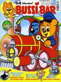 Bussi Bär - ein Eisenbahner!?! ;-)  ...und der Elefant hat eindeutig die größere Nase! ;-)