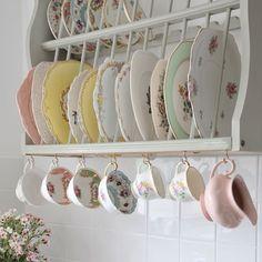 plates + cups rack
