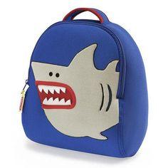 Dabbawalla bags Shark Backpack, Blue/Silver
