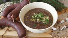 Zabijačkovou polévku mnozí z vás milují, ale dostanou se k ní málokdy. My tu pro vás dnes máme tip, jak si ji dopřát, i když zrovna žádnou zabijačku neděláte. Stačí vám na ni totiž kroupová jelítka! Beef, Soups, Food, Meat, Essen, Soup, Meals, Yemek, Eten