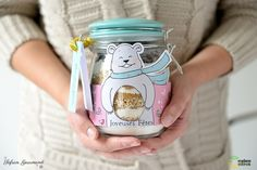bocal a cookies Food Gifts, Diy Gifts, Diy Cadeau Noel, Xmas, Christmas Ideas, Diy And Crafts, Mason Jars, Cookies, Biscuits