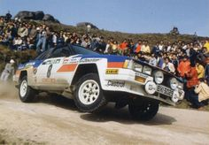 Nissan 240RS rally car