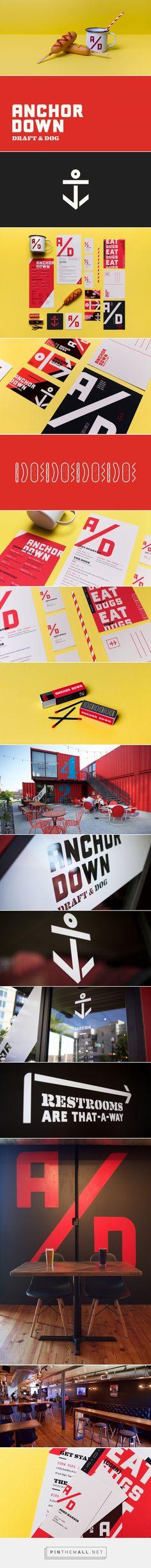 Anchor Down Restaurant Branding by Mast | Fivestar Branding – Design and Branding Agency & Inspiration Gallery