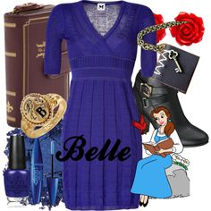 """""""Belle"""" by amarie104 on Polyvore"""