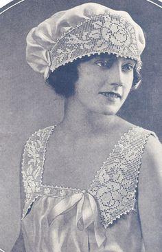 Vintage Crochet Pattern from Clark's Book