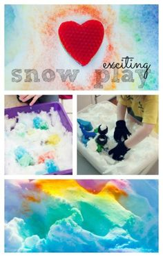 Snow Play Activities for kids ~ LOTS of fun ideas