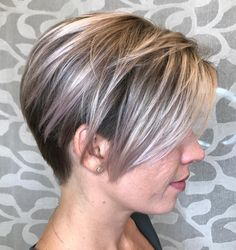 Two-Tone Pixie Undercut