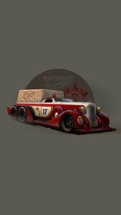 Vintage Racing, Vintage Cars, Vintage Ideas, Dog Car Accessories, Bmw Classic Cars, Derby Cars, Mc Laren, Car Illustration, Car Posters