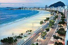 Copacaban Beach, Rio de Janeiro, Brazil