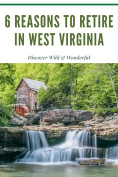 Beautiful Places To Live, Great Places, Best Places To Retire, Top Destinations, Take Me Home, Work Travel, Best Cities, West Virginia, Retirement