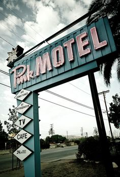 The Not So Pink Motel by Shakes The Clown, via Flickr